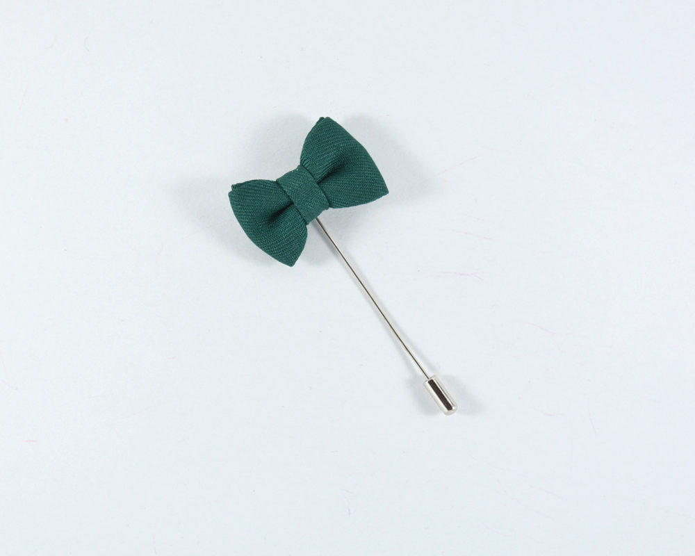 lapel-pin-bow-green