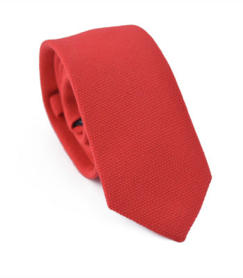 Rebel Red Tie