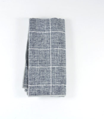 Shocaholic Grey Pocket Square
