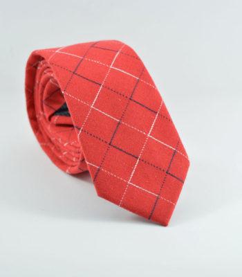 Symmetry Red Tie
