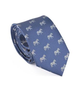 Blue Zebra Tie
