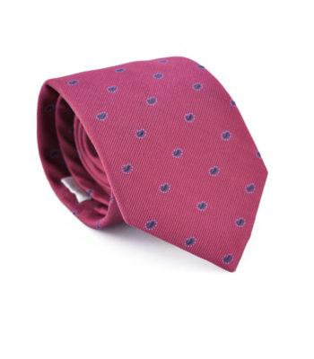 King Burgundy Tie