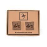 Bicycle Ξύλινα Μανικετόκουμπα