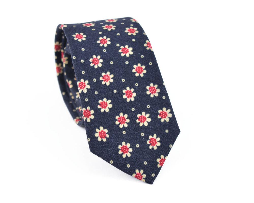 Γραβάτα Crazy Daisy Blue