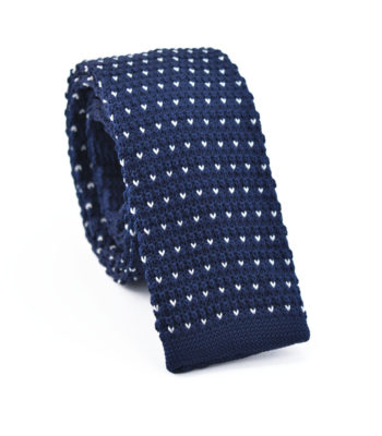 Rain Blue Knitted Tie