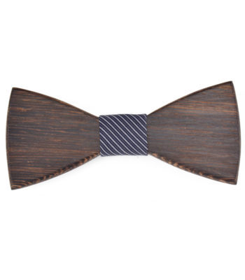 Wenge Wooden Bow Tie