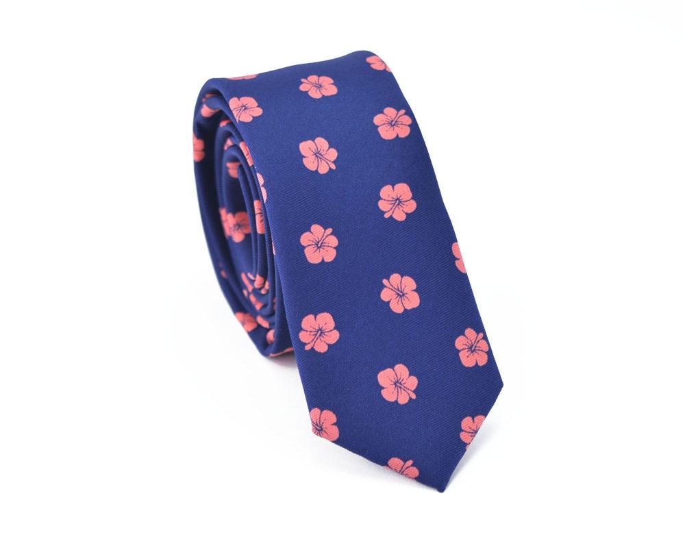 Γραβάτα Peachy Flowers