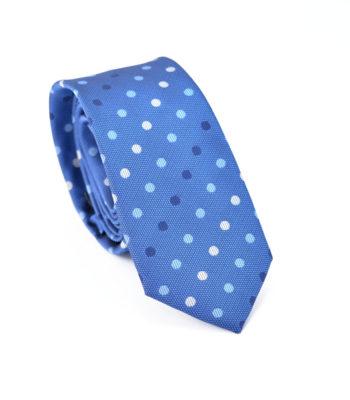 Polka Bold Blue Tie