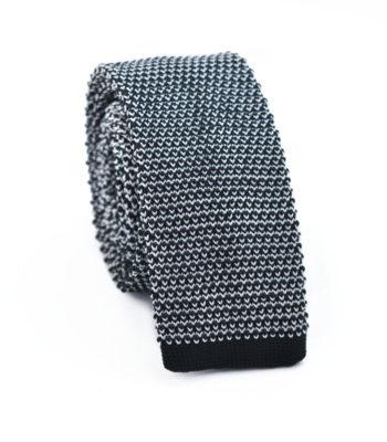 Parfait Black Knitted Tie