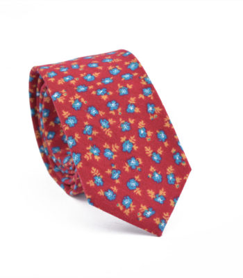 Red Peacock Tie