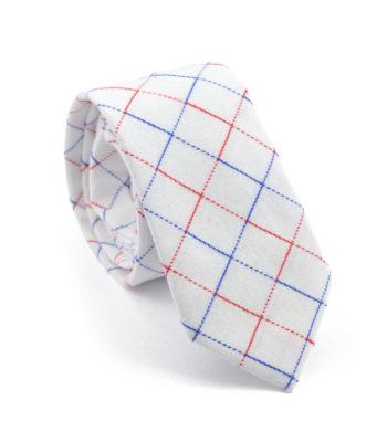 Γραβάτα Symmetry White