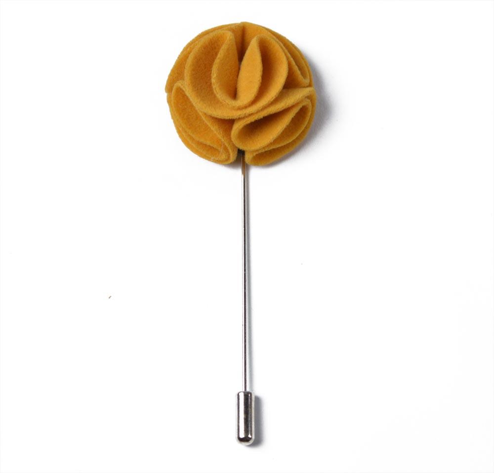 Καρφίτσα Πέτου Curvy Yellow