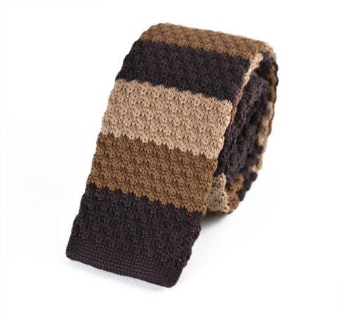 Γραβάτα Wavy Brown