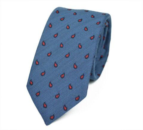 Ιταλική Γραβάτα από μαλλί και μετάξι Byron