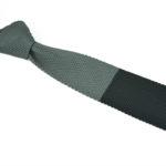 Πλεκτή Γραβάτα Double-grey