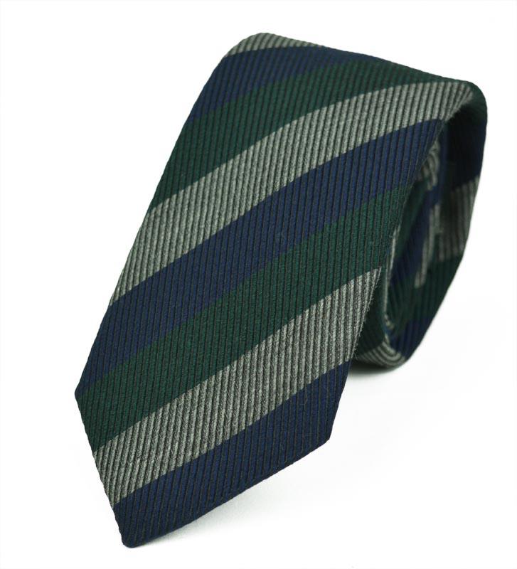 Γραβάτα από Μετάξι και Μαλλί Layers