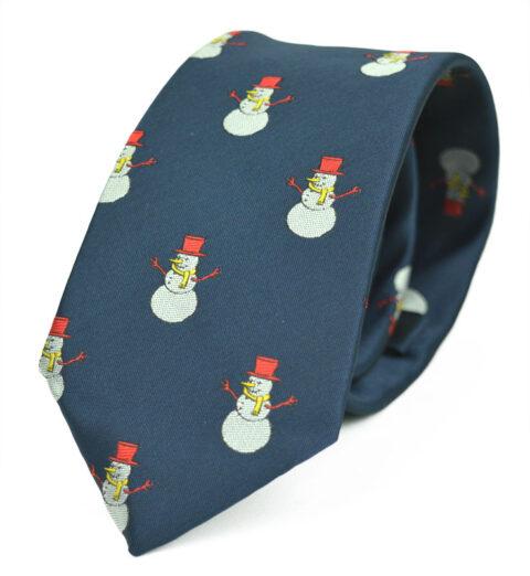Χριστουγεννιάτικη γραβάτα Snowman