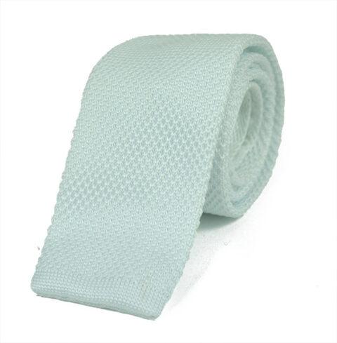 Πλεκτή Γραβάτα white-knitted